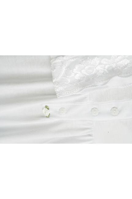 Βαμβακερό - Modal Πολυτελείας -Λευκό